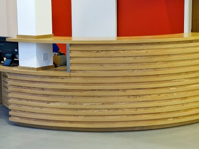 Borders College Reception Desk