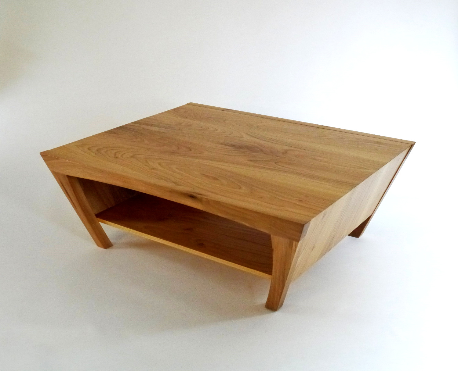 Trapezoid coffee table the image kid for Trapezoid table
