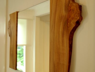 Elm Bookmatched Mirror2