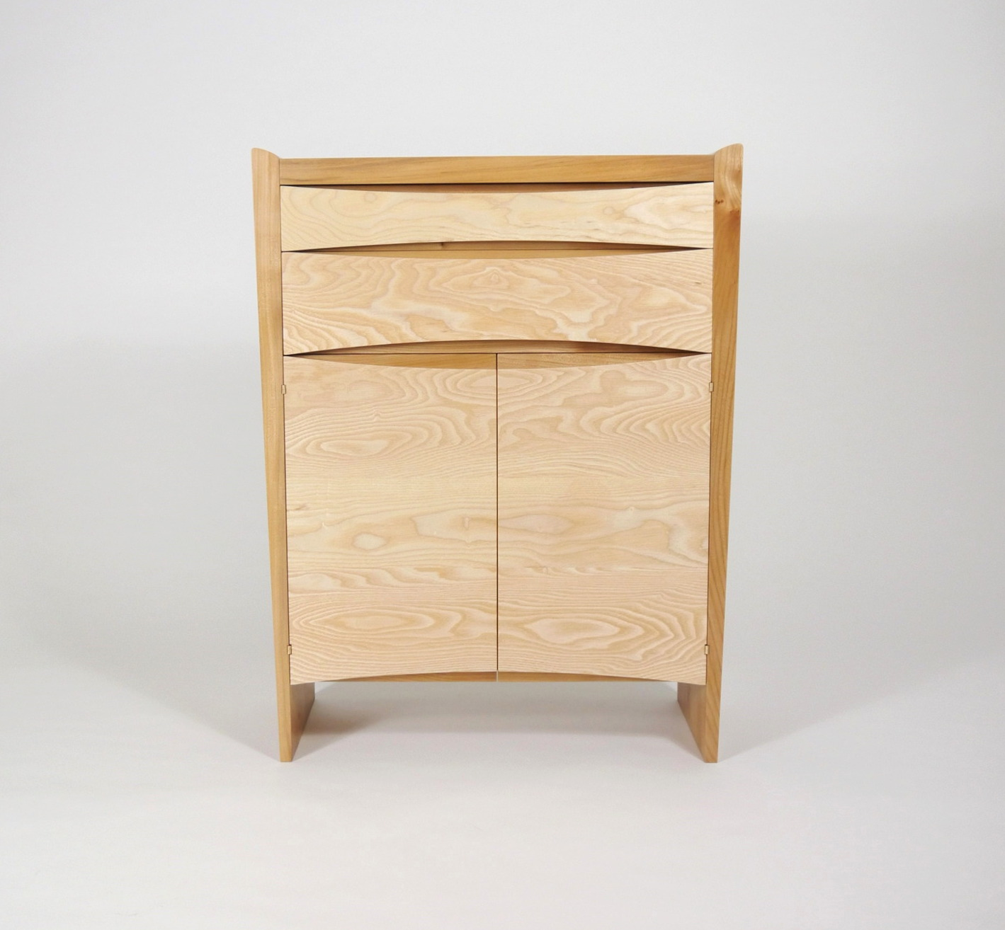 tapered cabinet real wood studios