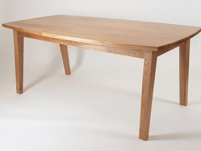 Elm 'Splayed-Leg' Dining Table 2