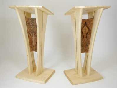 Borders Book Festival Lecterns by Alasdair Wallace